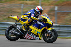 52 James Toseland - technologie 3 de Yamaha Images libres de droits