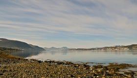 52 norr norway Fotografering för Bildbyråer