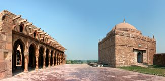 52 pillars of kannauj, India Stock Photos