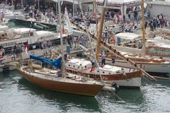 52th boatshow Genoa Stock Photos