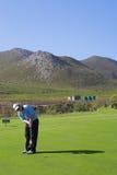 53高尔夫球运动员 免版税库存图片