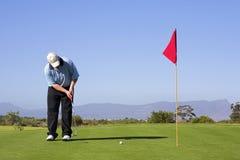 53高尔夫球 库存照片