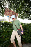 53 upptar anti apec honolulu protest Royaltyfri Bild