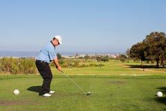 54高尔夫球运动员 库存图片