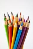 54 befläckte blyertspennor Arkivfoton