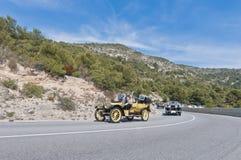 54. Sammlung Barcelona-Sitges zweites Phasenrennen. Stockbilder