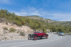 54th Rally Barcelona-Sitges second phase race. Royalty Free Stock Photos