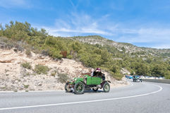 54th Rally Barcelona-Sitges second phase race. Royalty Free Stock Image