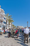 54th Rally Barcelona-Sitges second phase race. Royalty Free Stock Photography