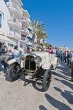 54th Samla Barcelona-Sitges understöder arrangerar gradvis racen. Arkivbild