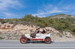 54th Samla Barcelona-Sitges understöder arrangerar gradvis racen. Royaltyfri Foto