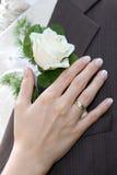 55系列婚礼 库存图片