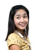 55 azjatykcich młodych dziewcząt Zdjęcie Royalty Free