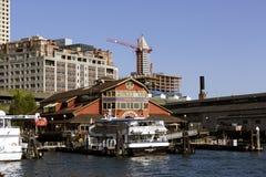 55 molo Seattle Zdjęcie Stock