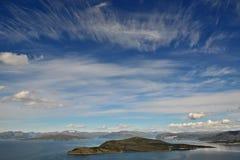 55 północ Norway Zdjęcie Royalty Free