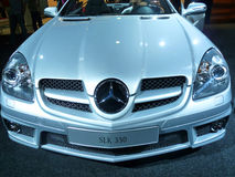 550 slk Mercedes fotografia stock