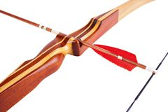55lbs弓狩猎折回 免版税图库摄影