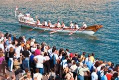 55th forntida maritima regattarepubliker Arkivbilder