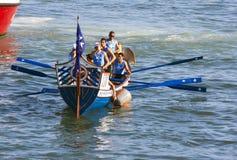 55th forntida maritima regattarepubliker Royaltyfri Fotografi