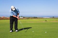 56高尔夫球运动员 免版税库存图片