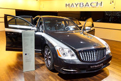57 maybach s Royaltyfri Fotografi