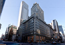 57 straat en 5de van New York van de Weg Stad Royalty-vrije Stock Afbeelding