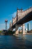 57th ponte da rua às rainhas Imagens de Stock Royalty Free
