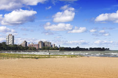 57th Street Beach (Chicago) Stock Image