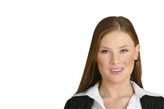 587a εταιρική γυναίκα Στοκ εικόνα με δικαίωμα ελεύθερης χρήσης