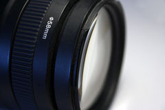 58mm Canon Teleaufnahmeobjektiv Stockbild