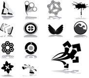 59品牌企业徽标 库存图片