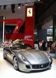 599 ferrari fiorano gtb马达巴黎显示 免版税库存照片