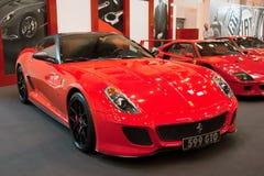 599 Ferrari gto fotografia stock