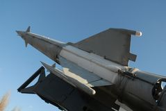 5b27 αντι πύραυλος αεροσκαφών Στοκ εικόνες με δικαίωμα ελεύθερης χρήσης