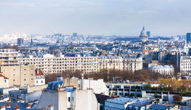 5th arrondissement Pantheon of Paris Royalty Free Stock Photo