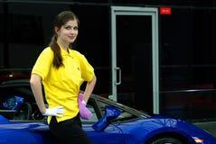 5th auto utställninginternational shanghai Arkivfoton