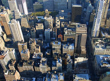 5th avenue from above, New York Stock Photo
