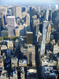 5th avenue from above, New York royalty free stock photo