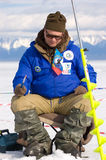 The 5th Baikal Fishing stock photos