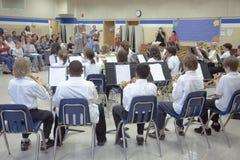 5th grade band recital Royalty Free Stock Photo