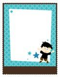 5x11 8传单海报模板 免版税库存照片