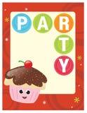 5x11 8 partyjny ulotka plakat ilustracja wektor