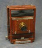 5x7木照相机的视图 库存照片