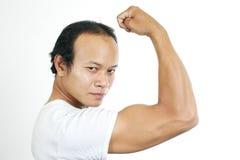 6个人肌肉 库存照片
