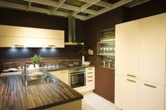 6个厨房现代新的缩放比例 库存图片