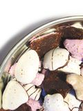 6个圣诞节曲奇饼 免版税库存照片