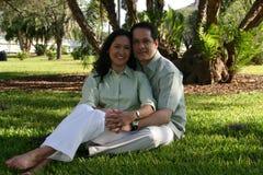6个夫妇愉快的系列 免版税库存照片