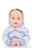 6个女婴月 免版税图库摄影