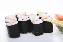 6个寿司 库存图片