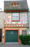 6个房子好瑞士 免版税库存图片